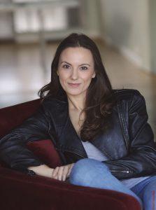 French actress Soraya Garré
