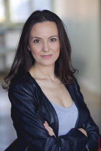 Actrice française Soraya Garré